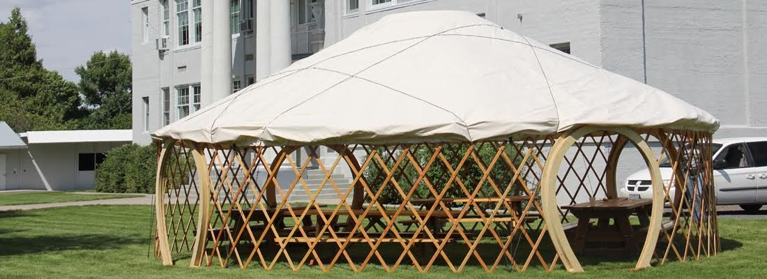 Portable Yurt Shelters : Welcome to campingyurts lightweight portable