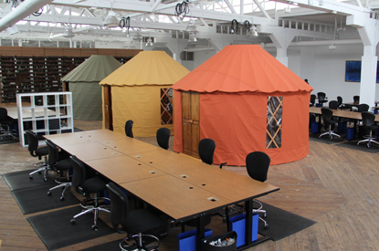 Meraki indoor yurts
