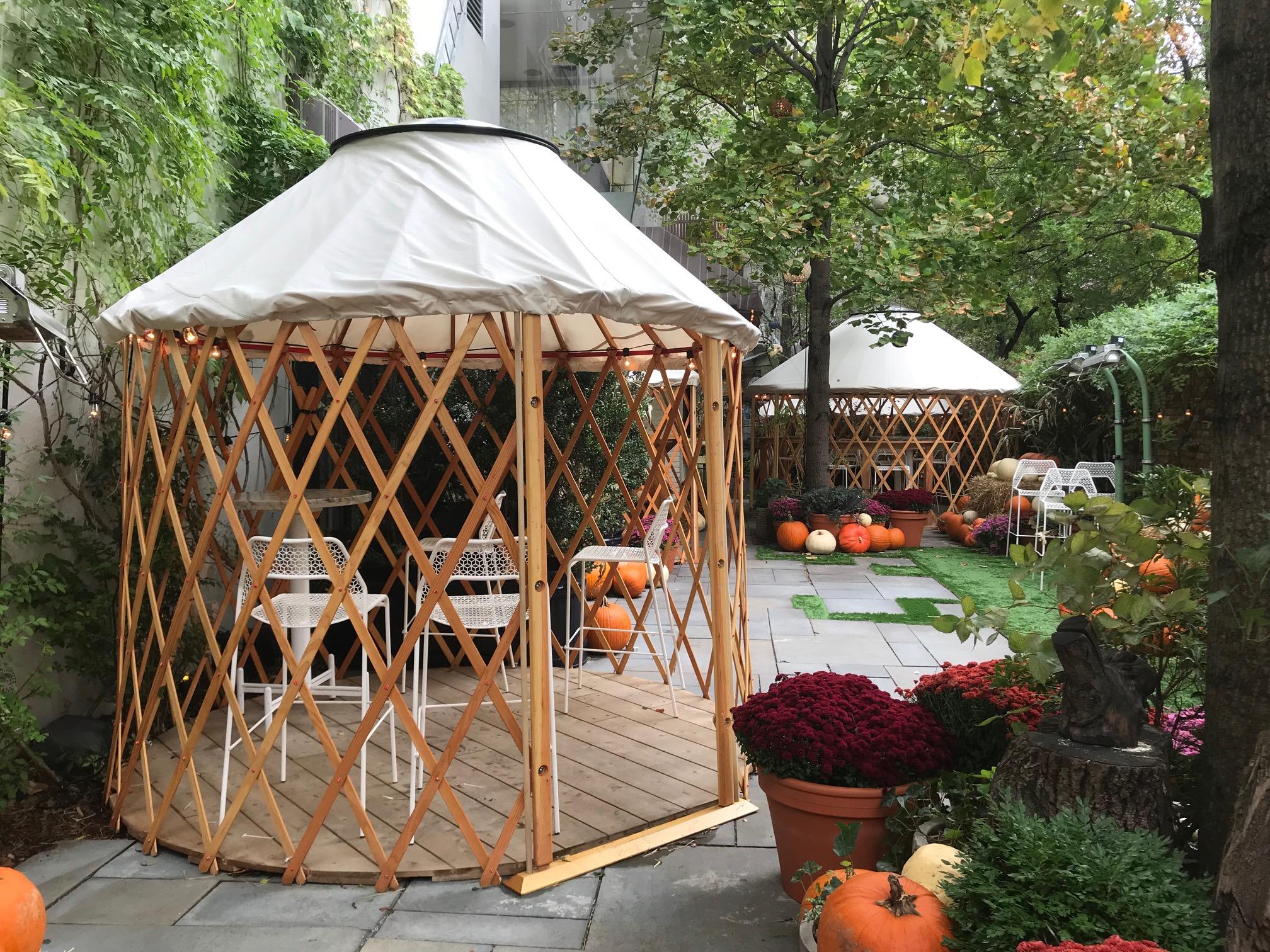 Restaurant Yurts Camping Yurts